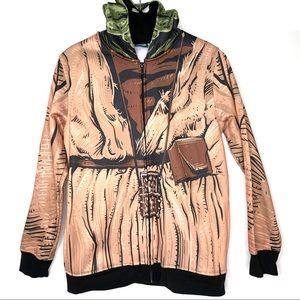 Star Wars Disney Yoda Costume Hooded Jacket